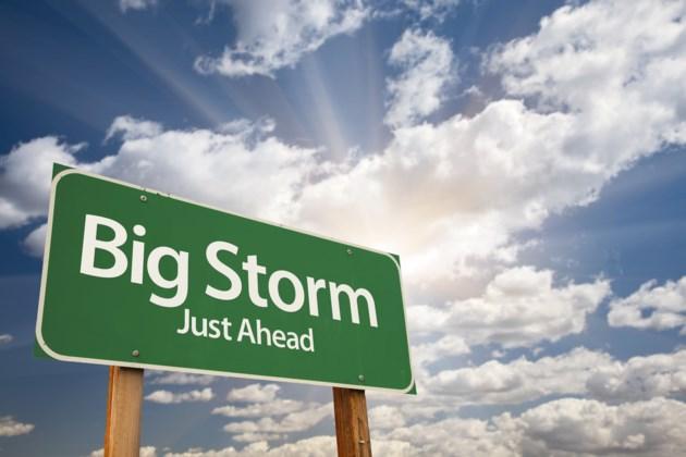 weather big storm stock