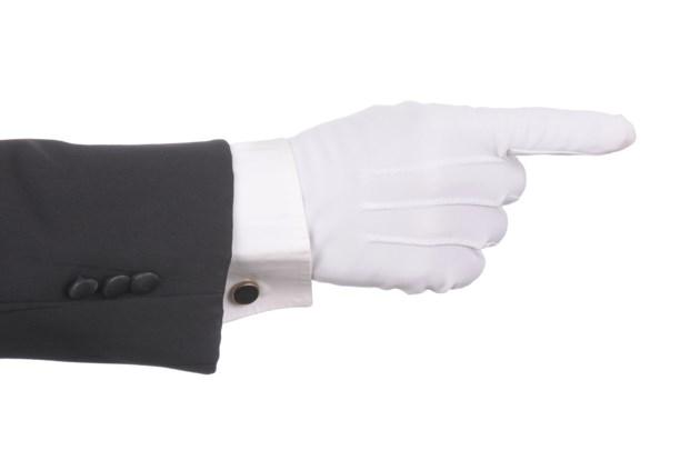 white glove gloves