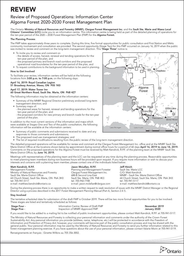 190317 Q82-NEA-235_Review-of-Proposed-Operations-Algoma-Forest_FIN