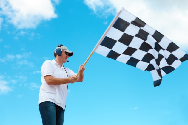 checkered flag AdobeStock