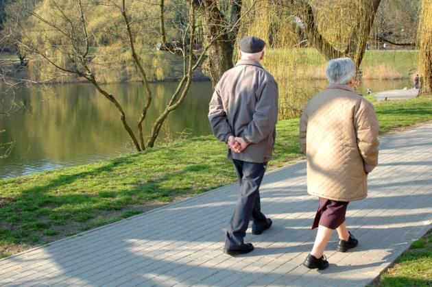 ElderlyWalkinSidewalks