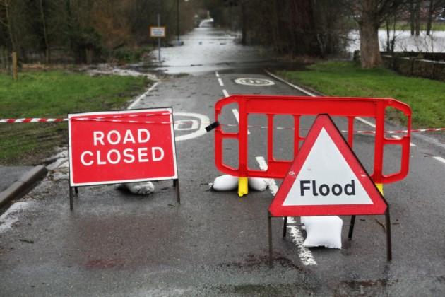 Road Closed Flood shutterstock