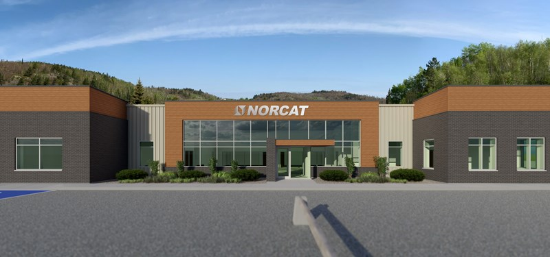 Artists tendering of the new 12,000 square foot building planned for the NORCAT centre in Onaping.