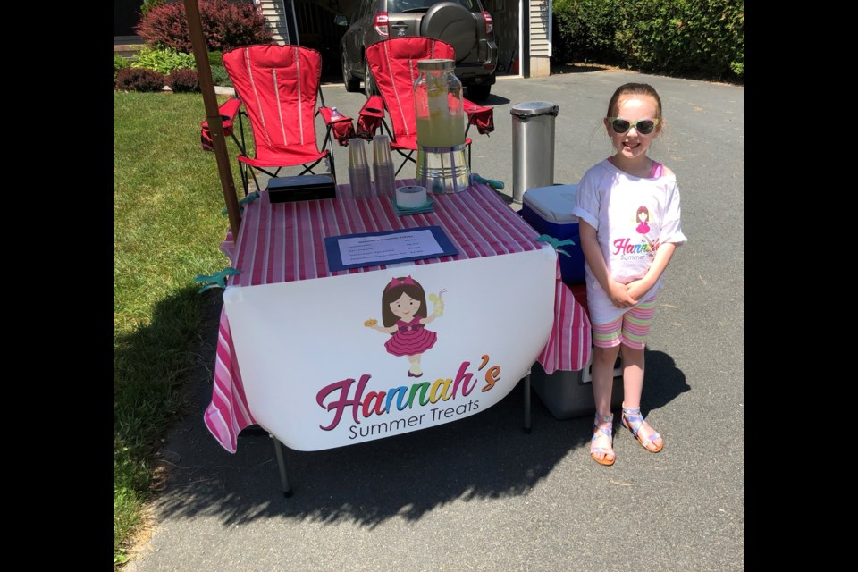 By all accounts, Hannah's Summer Treats has been a raging success