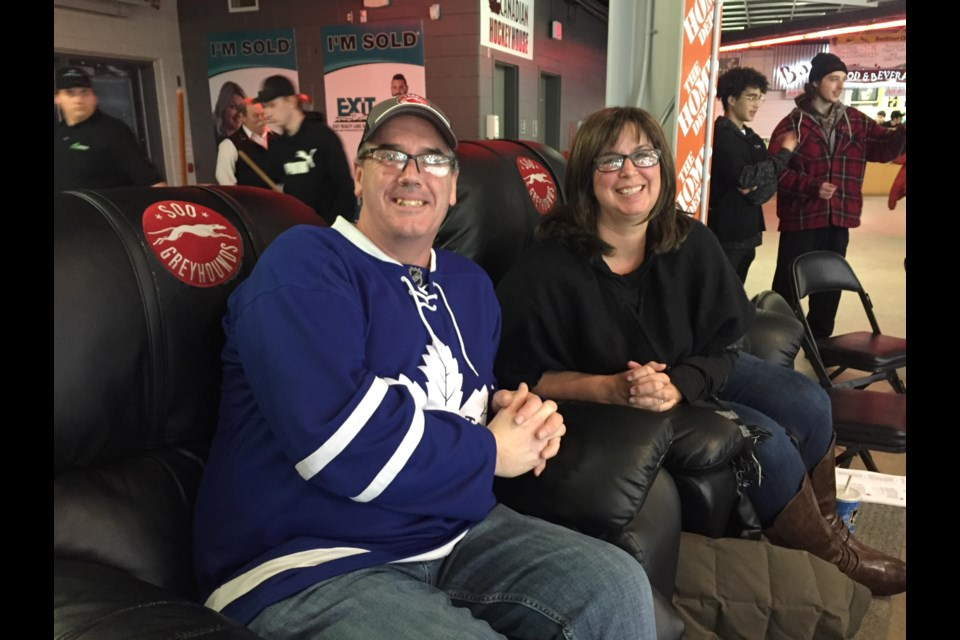 Scott MacDonald enjoyed the Best Seats in the House as one of the recipients selected for December's giveaway