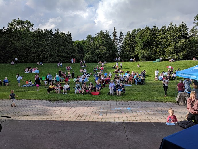 ARCH Hospice holds their annual Butterfly Release at Bellevue Park Thursday
