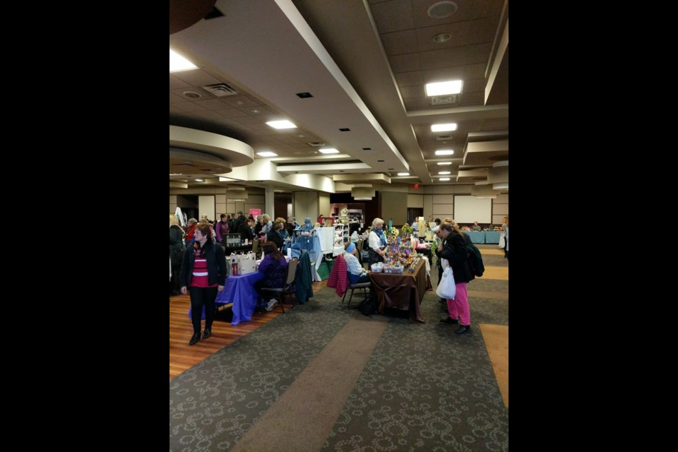 The Elettra Marconi Society hosts their 2nd Annual Craft & Vendor Show to fundraise for local charities with 42 businesses at The Marconi Club this Saturday