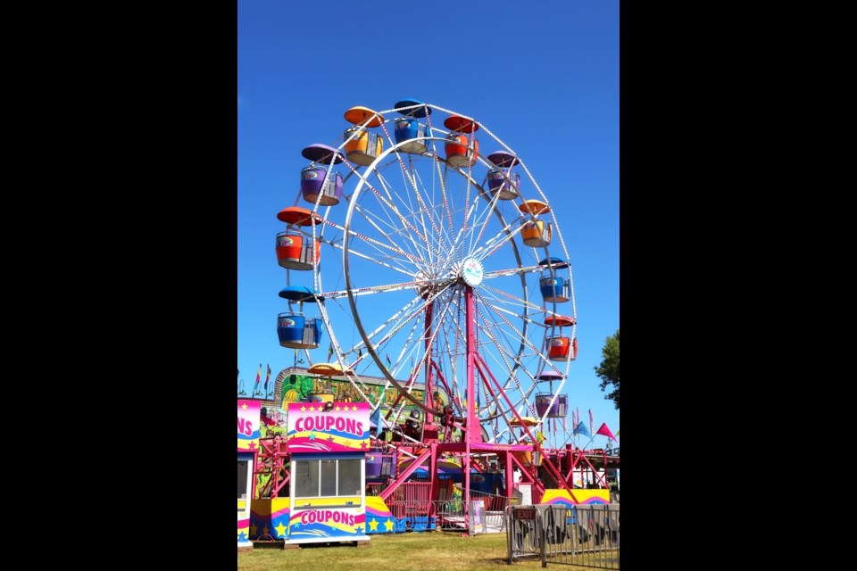 The Rotaryfest Midway is back in town for a weekend full of nostalgia. Photo by Jay Schultz /Bulletin