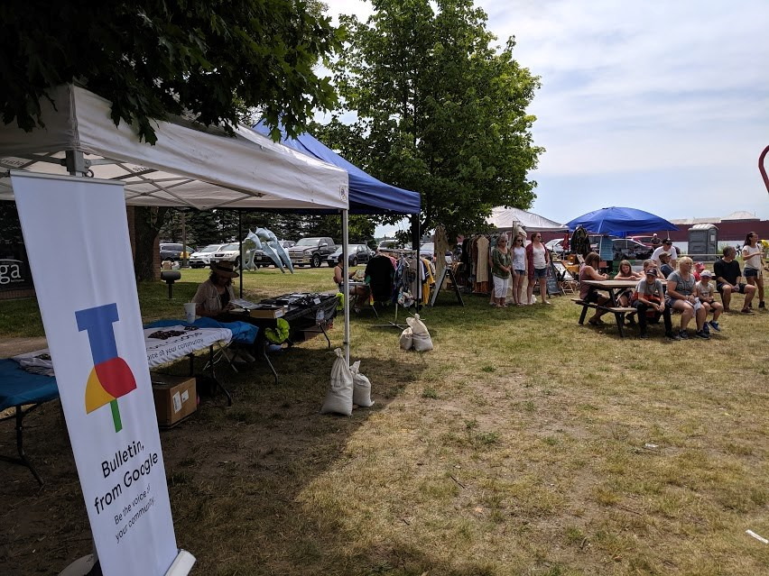 The Upcycled and Vintage Market Saturday at Rotaryfest Stage 2 features some great local vendors alongside local musical talent