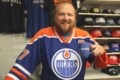 Mid-Week Mugging: Matti's an Oilers fan, but the Leafs and Habs lead the pack at his store