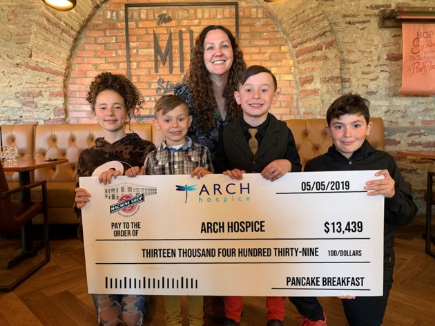 2019-05-08 Cheque Donation ARCH