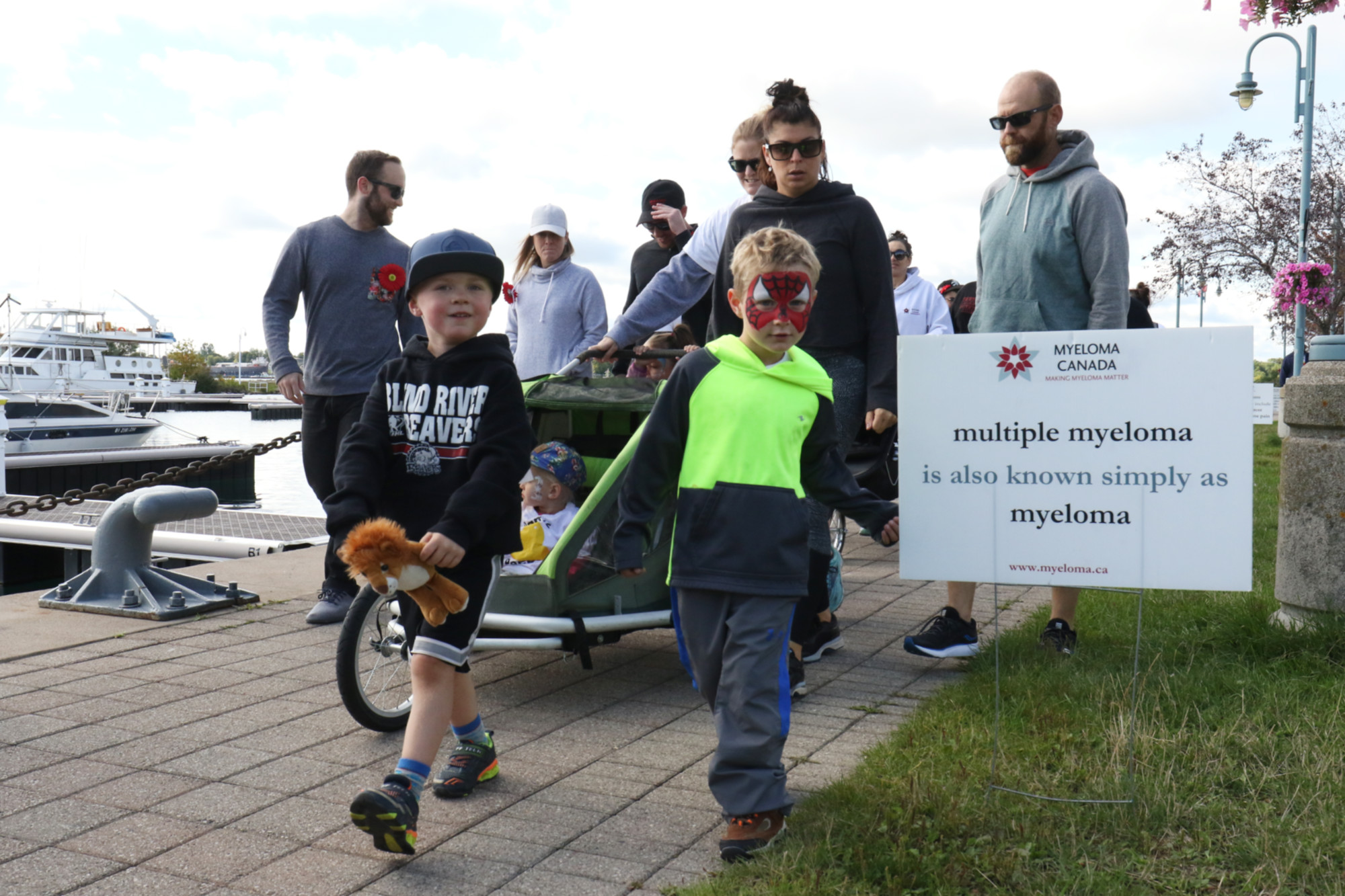 Marching for myeloma in the Sault (8 photos) - SooToday com