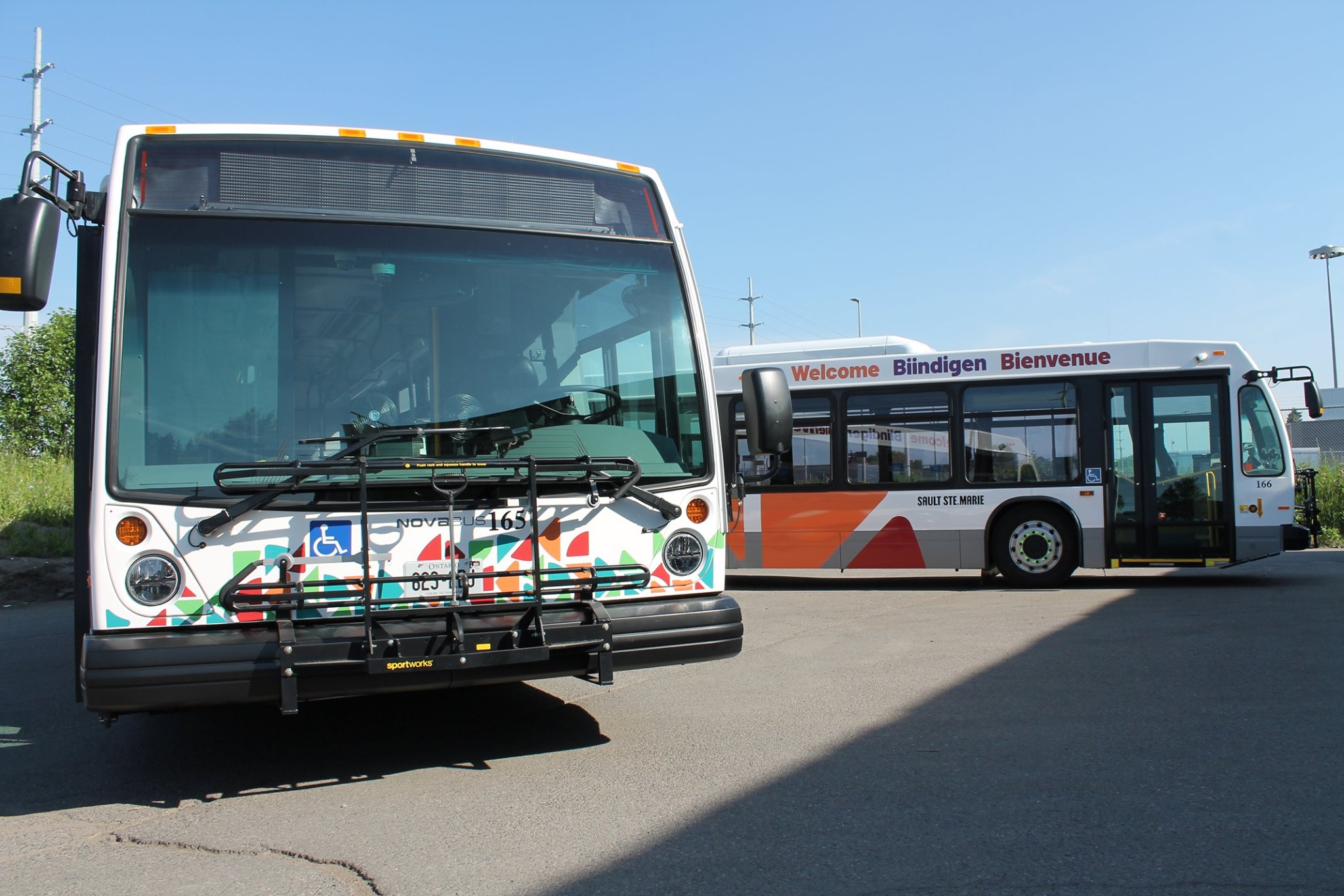 Two new buses hit the streets today - SooToday com
