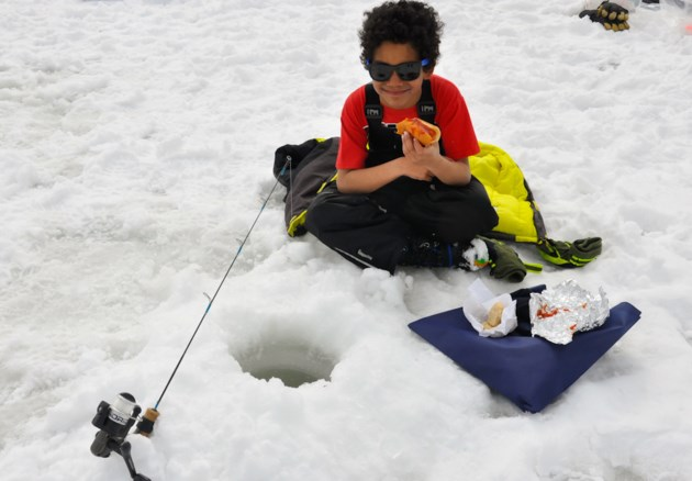 How about free ice fishing on family day weekend no for Ice fishing tournament