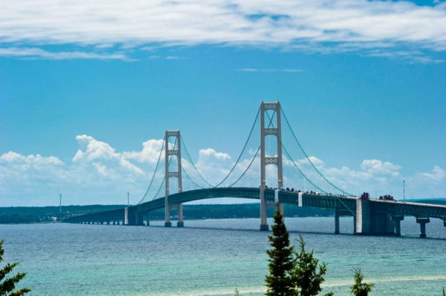 Did You Know Parts Of The Mackinac Bridge Bend 5 Photos