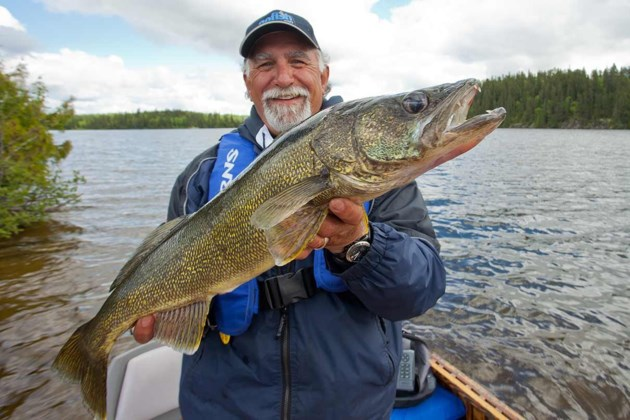 Outdoors try this dropshot technique for Walleye fishing in canada