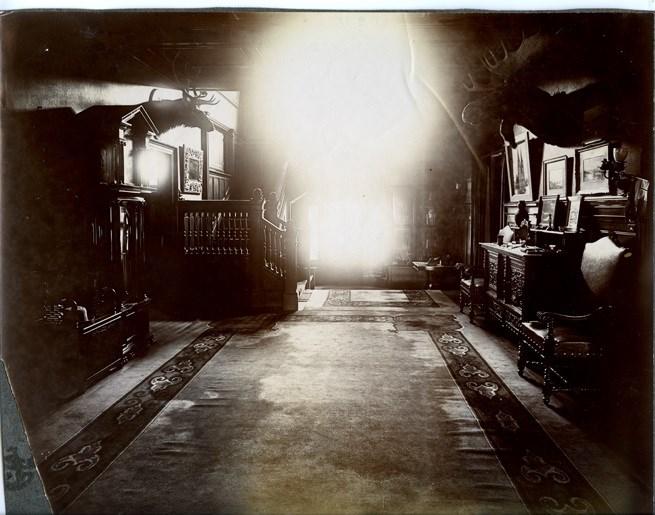 Francis H. Clergue's residence, Montfermier. Sault Ste. Marie Public Library archive