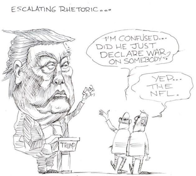 Moffatt - escalating rhetoric