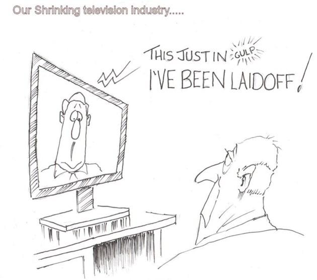 Moffatt - shrinking tv industry