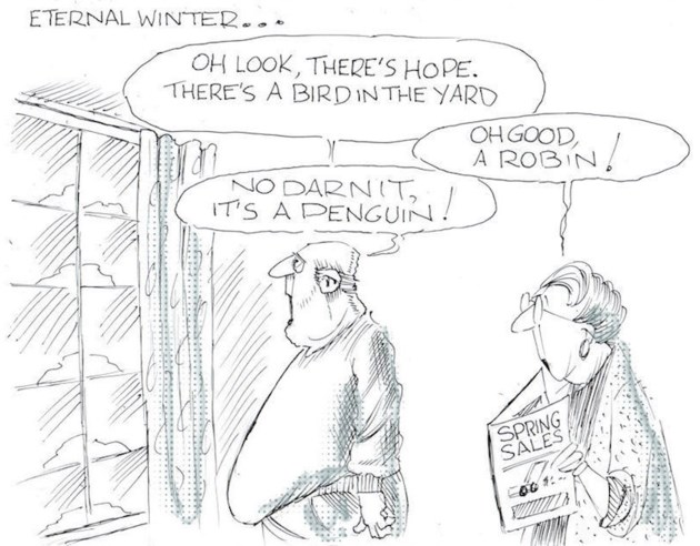 Sunday Funny - eternal winter