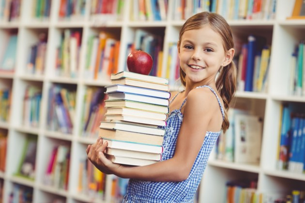 LibraryGirlStock