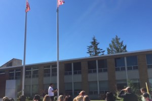 Flag raised at Sault College to commemorate National Indigenous Peoples Day