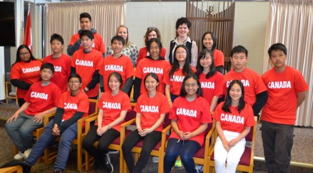 2018-05-16 HSCDSB Exchange Students
