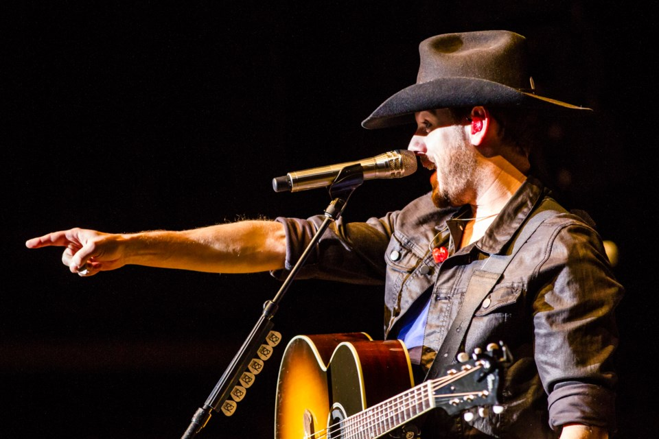 Brett Kissel at the Kiwanis Community Theatre Centre on Thursday, Jan. 12, 2017.  Donna Hopper/SooToday