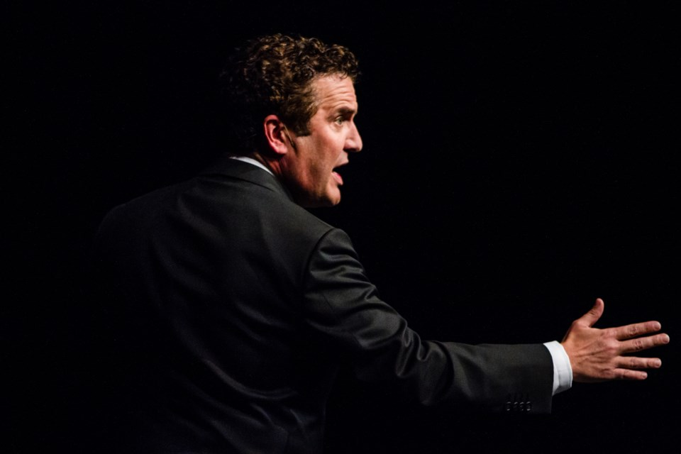 In support of its Rainbow Camp, the Welcome Friend Association hosted Rick Mercer at the Community Theatre Centre on Friday, May 12, 2017. Donna Hopper/SooToday
