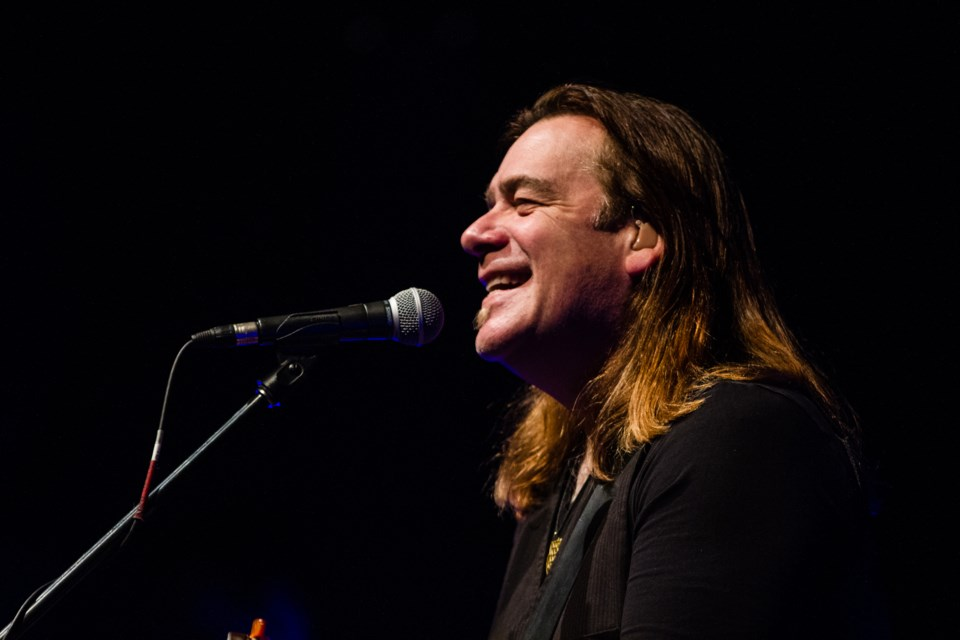 Alan Doyle and The Beautiful, Beautiful Band at the Sault Community Theatre Centre on Tuesday, Nov. 6, 2018 Donna Hopper/SooToday
