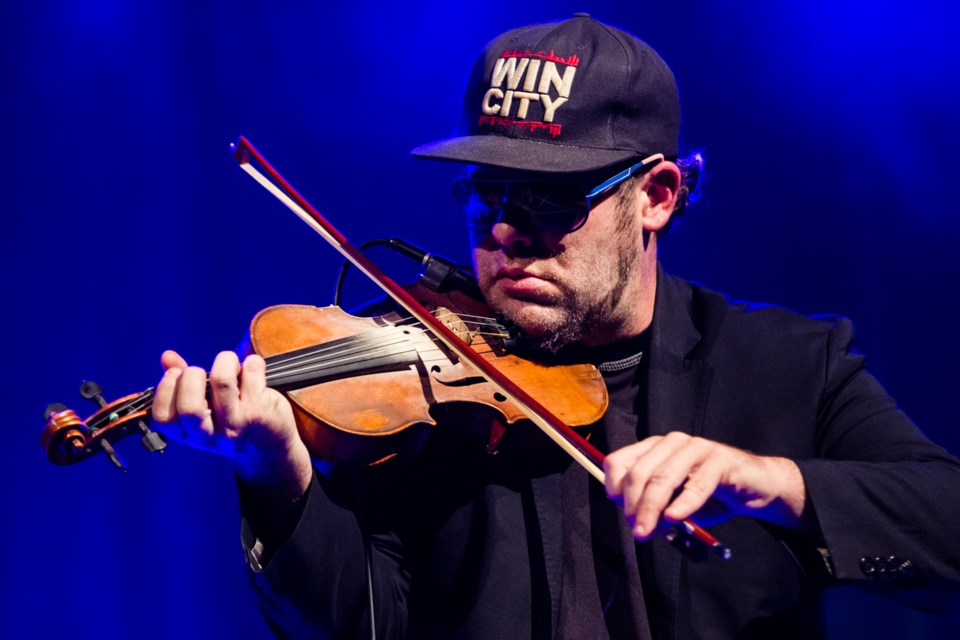 Ashley MacIsaac performs as part of the Algoma Fall Festival at the Machine Shop on Friday, October 26, 2018. Donna Hopper/SooToday