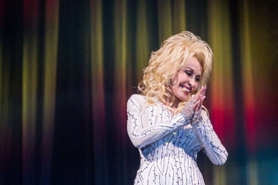 Dolly Parton at the Essar Centre on Saturday September 10, 2016. Donna Hopper/SooToday