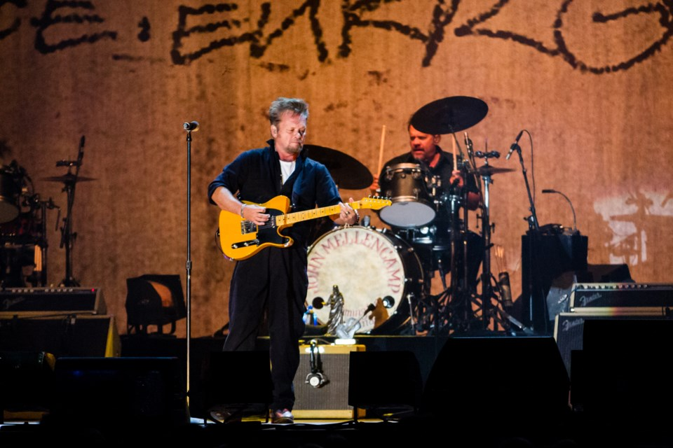 John Mellencamp at the GFL Memorial Gardens on Thursday, October 11, 2018. Donna Hopper/SooToday