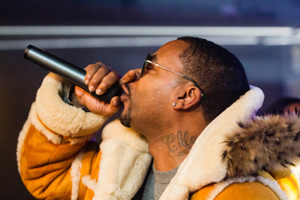 Obie Trice at the Canadian Night Club on Friday, Dec. 14, 2018. Donna Hopper/SooToday