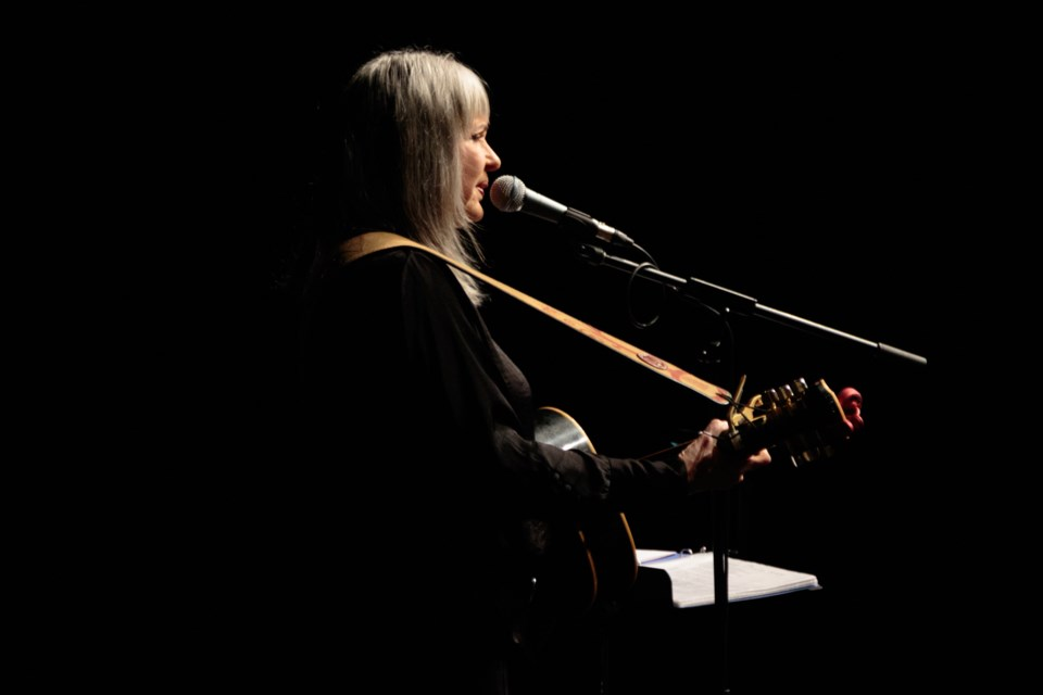 Singer-songwriter Sylvia Tyson performed at the Sault Community Theatre on Friday evening, kicking off the first performance of Algoma Fall Festival. Jeff Klassen/SooToday