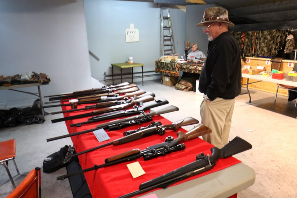 The Algoma Rod & Gun Club 2018 Gun Show featured a wide range of hunting, archery and fishing equipment on Saturday. The event, now in its eighth year, saw 40 vendors participate in the event. Attendees were able to get hands-on with a number of handguns, rifles and archery equipment throughout the day. James Hopkin/SooToday
