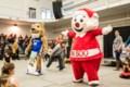 Mascot vs mascot at the Sault College Pow Wow <b>(21 photos)</b>