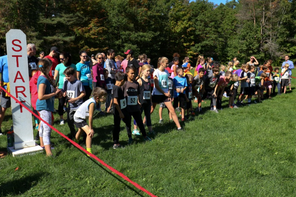 166 runners took part in Trail Trot 2018 at Kinsmen Park Saturday. The event, now in its 33rd year, is an annual fundrasier for the Soo Finnish Nordic Ski Club. James Hopkin/SooToday