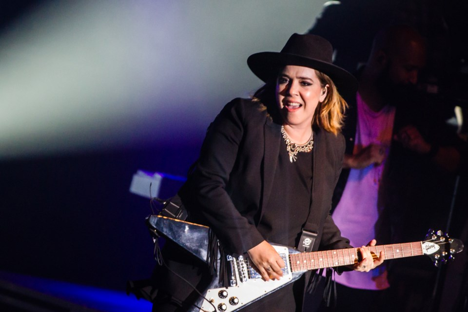 The Algoma Fall Festival presented Serena Ryder at the Sault Community Theatre Centre on Sunday, Oct. 15, 2017. Donna Hopper/SooToday