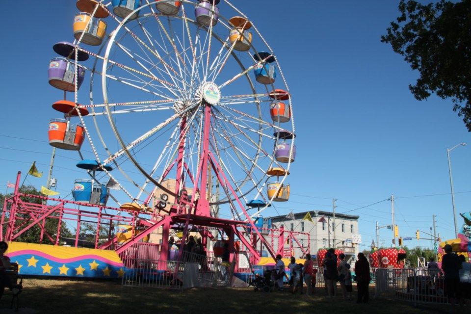 Children, youth and adults enjoyed rides, amusements and refreshments as this year's Rotaryfest Midway kicked off at 5 p.m. Wednesday afternoon, July 18, 2018 at the Civic Centre's north green space. The Midway goes from 2 p.m. until 10 p.m. Thursday, 2 p.m. until 11 p.m. Friday and 12 p.m. until 11 p.m. Saturday. Darren Taylor/SooToday
