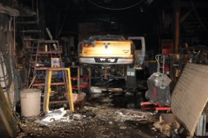 Another fire at Double Eagle Parts and Service, OFM called