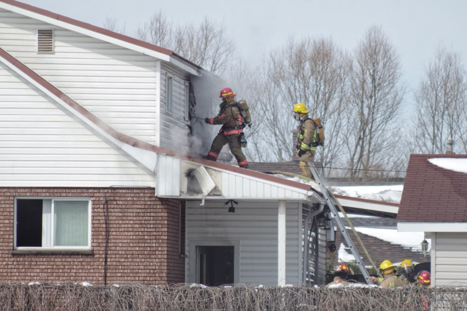 Davenport family safe after early morning house fire