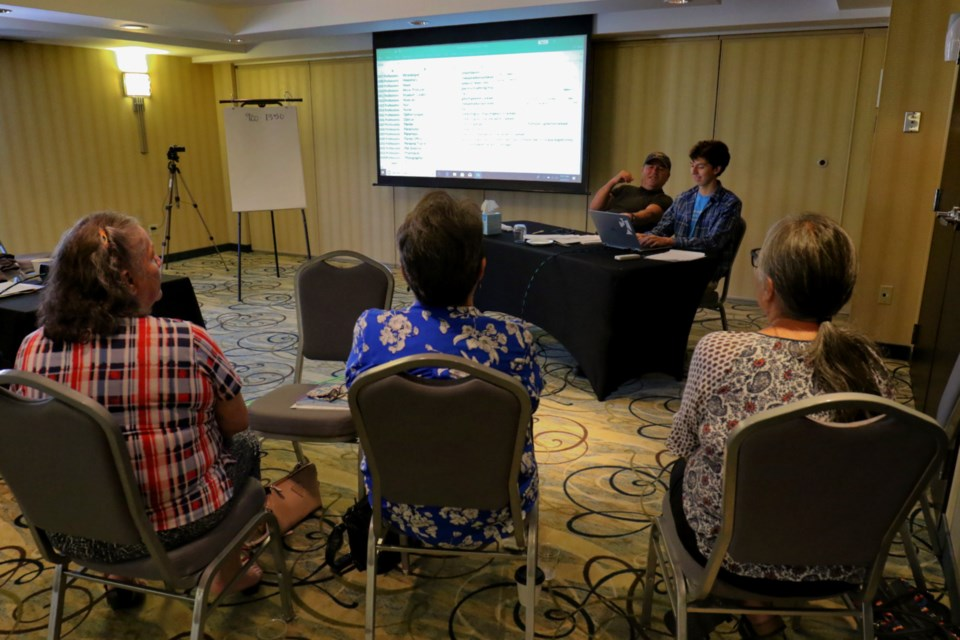 The Anishinaabemowin Terminology Conference saw 30 fluent speakers from across the province come together in Sault Ste. Marie this week in an effort to come up with new words to describe modern terms. James Hopkin/SooToday