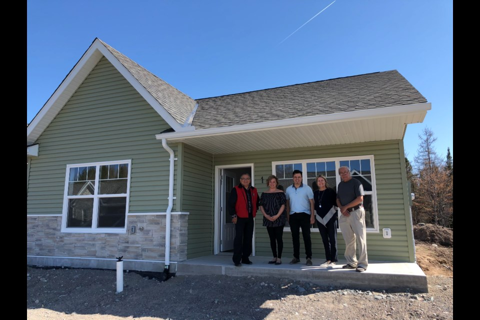 Batchewana First Nation is marking the completion of new townhouses in its new Rankin Townhouse Complex. (Supplied photo)