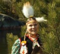 Akeshia Shkaabewis is chasing her childhood dream