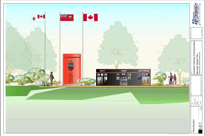 Proposed memorial