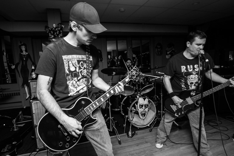 Destroilet, Jack Spades and the Ripcordz celebrated the release of Fed-Up, a Canadian punk rock split, at the Algonquin Pub on Saturday, October 24, 2015. Donna Hopper/SooToday