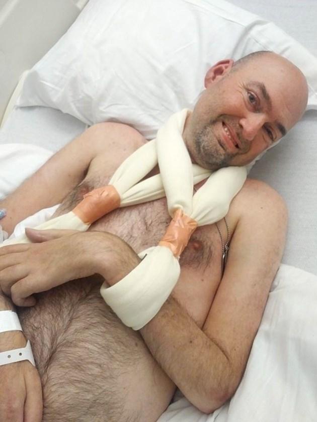 Skydiving accident leaves Dubreuilville ALS survivor . . . still smiling (3 photos) - SooToday.com