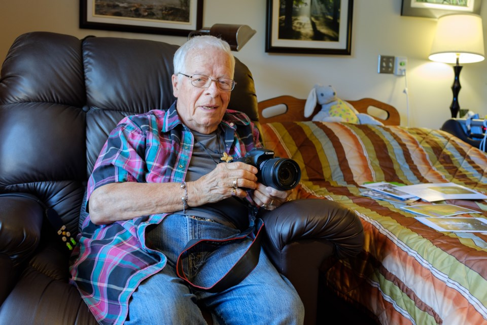 About 15 years ago photographer Gordon Stone, now 81, went down to Bellevue Park and 'recieved' the photograph 'Touched by the Spirit of God'. Jeff Klassen/SooToday