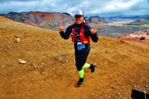 Meet Nick Brash. He's about to run 101 kilometres through three countries